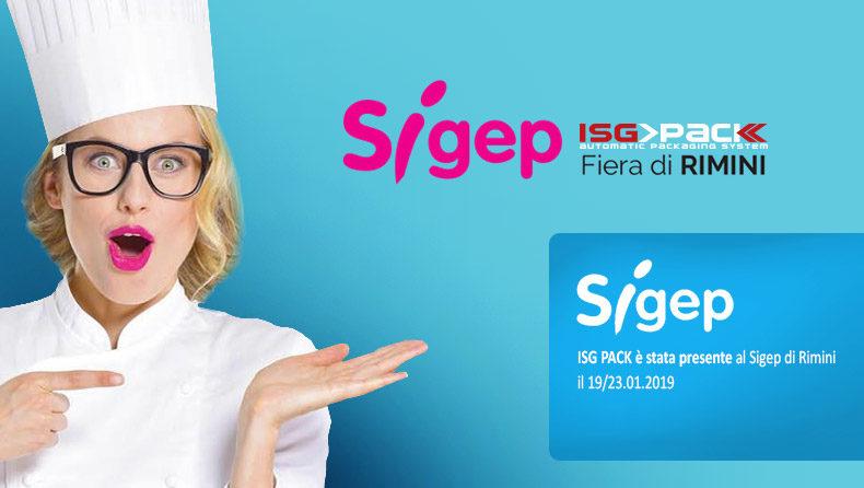 sigep rimini 2019 - ISG PACK