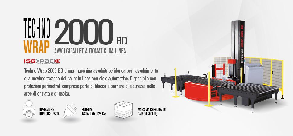 Fasciapallet da linea Techno Wrap 2000 BD