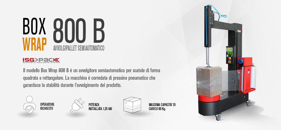 Avvolgitore speciale box wrap 800 B
