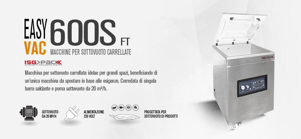 confezionatrice sottovuoto easy vac 600S FT
