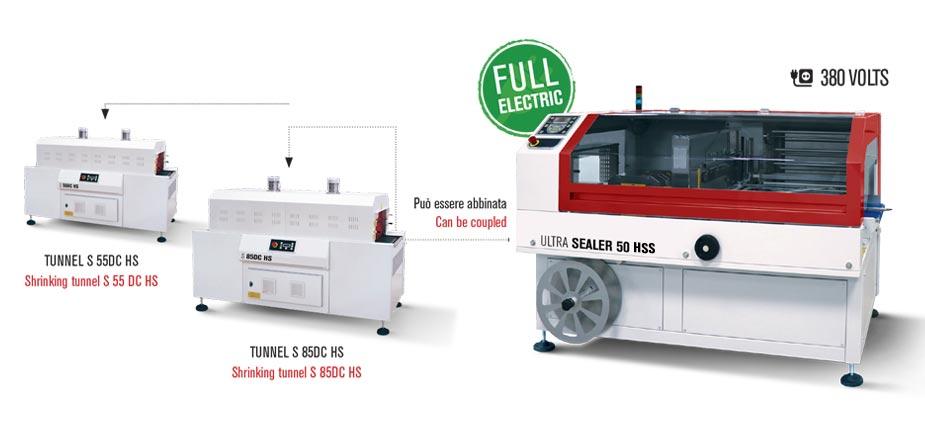 Confezionatrice angolare Ultra Sealer 50 HSS a ciclo continuo
