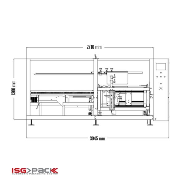 Automatic case erector   Scheme 2