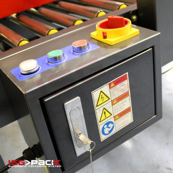 Electrical panel carton sealer detail 2