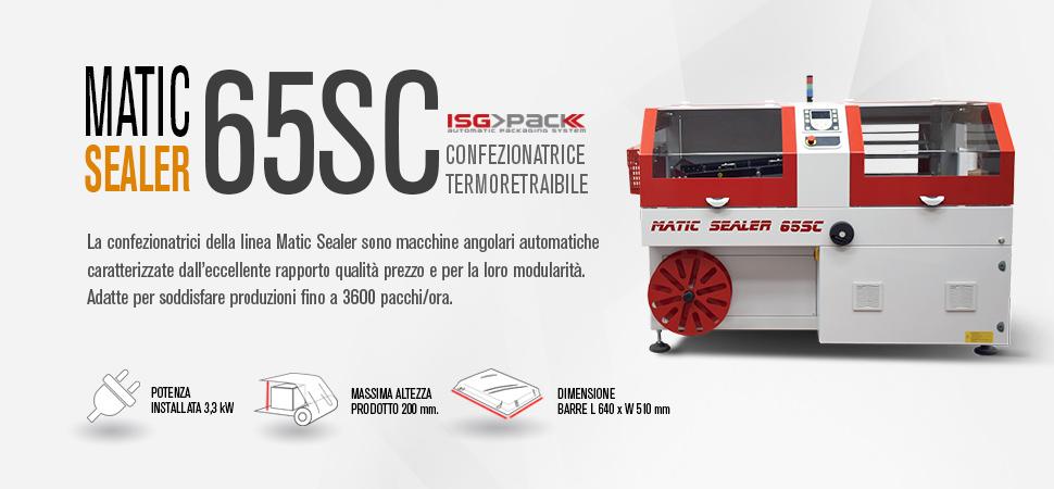 confezionatrice angolare Matic Sealer 65 SC