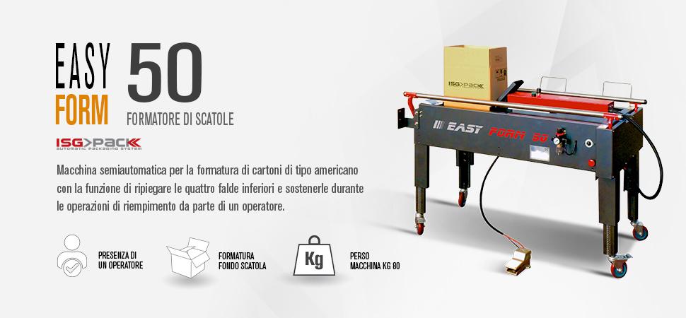 Forma cartoni semiautomatica Easy Form 50