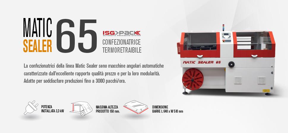 Confezionatrice angolare automatica Matic Sealer 65