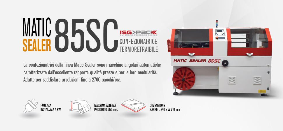 nfezionatrice automatica angolare Matic Sealer 85 SC