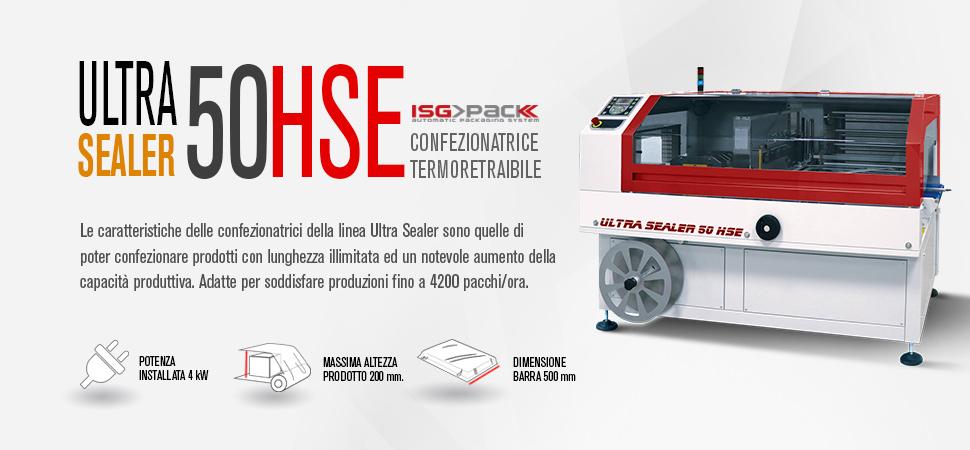 Confezionatrice automatica Ultra Sealer 50 HSE