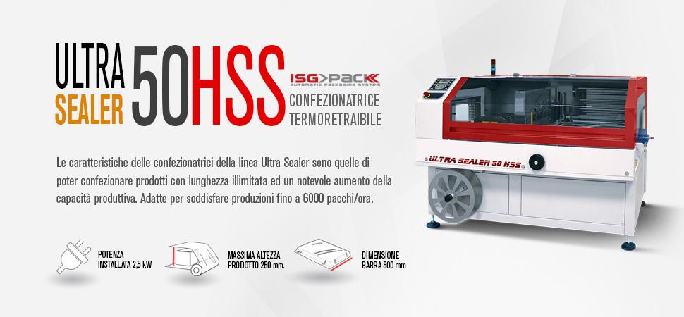 Confezionatrice automatica angolare Ultra Sealer 50 HSS