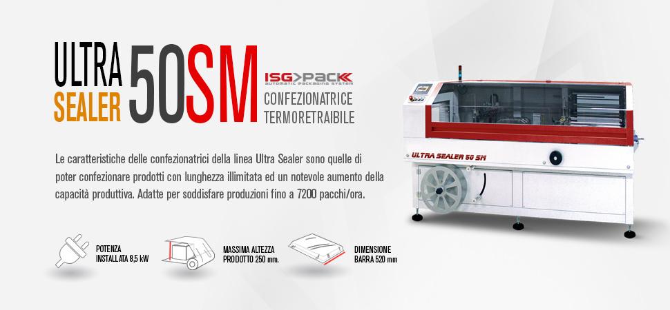 Confezionatrice angolare semiautomatica Ultra Sealer 50 SM