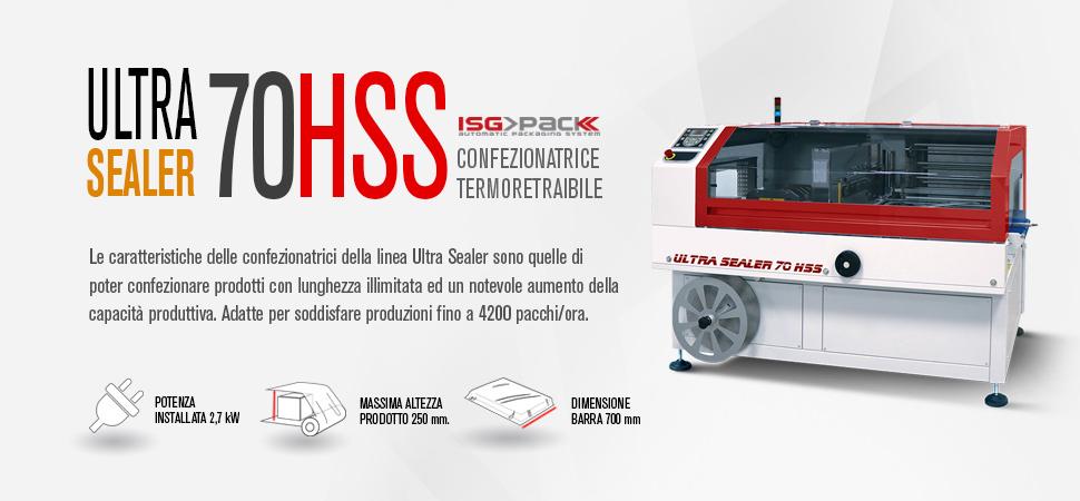 Confezionatrica automatica ultra sealer 70 HSS