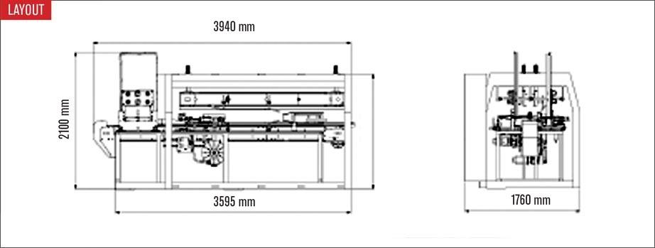 Layout Formatore per scatole Ultra Form 40 T