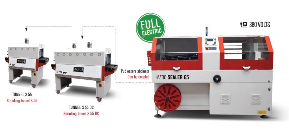Confezionatrice termoretraibile Matic Sealer 65 full electric