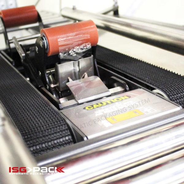 lower conveyor belt taping machine
