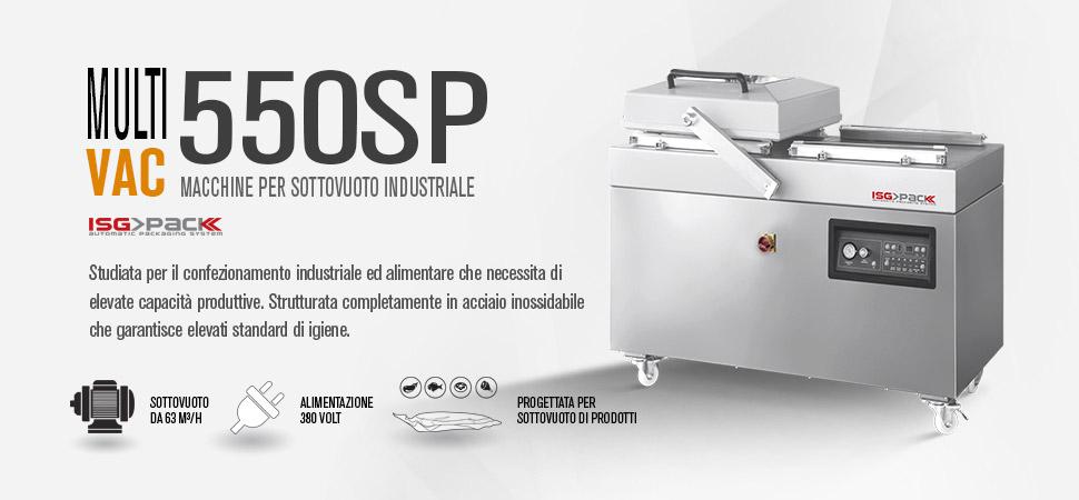 confezionatrice sottovuoto industriale Multi Vac 550 SP