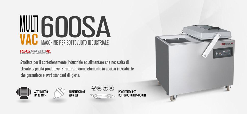 Confezionatrice sottovuoto Multi Vac 600 SA