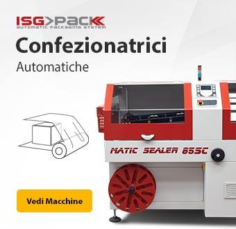 Confezionatrici automatiche ISG PACK