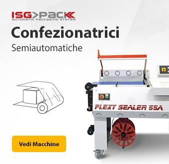 Confezionatrici semiautomatiche ISG PACK