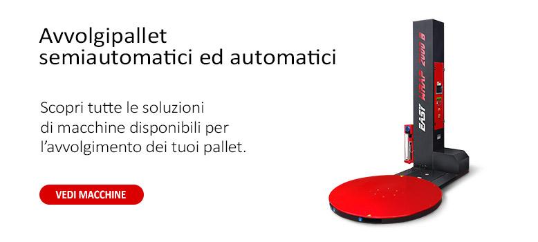 fasciapallet automatici e semiautomatici ISG PACK