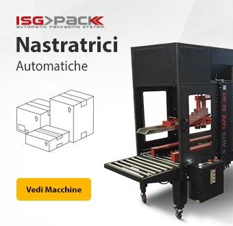 Nastratrici di scatole automatiche - ISG PACK