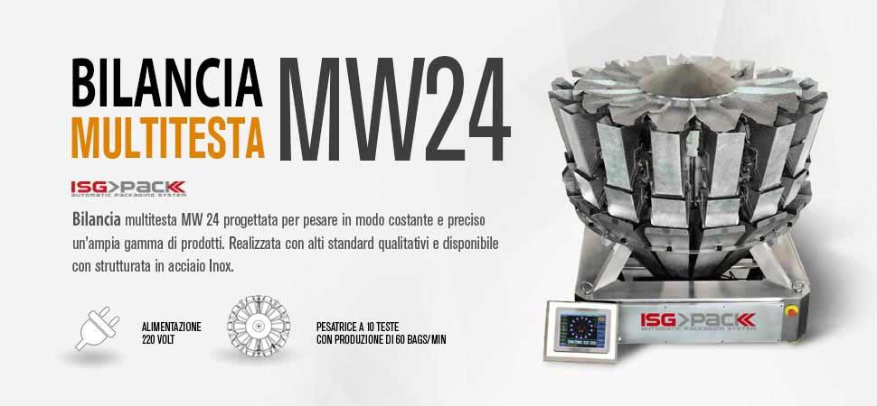 Scheda bilancia multitesta MW 24