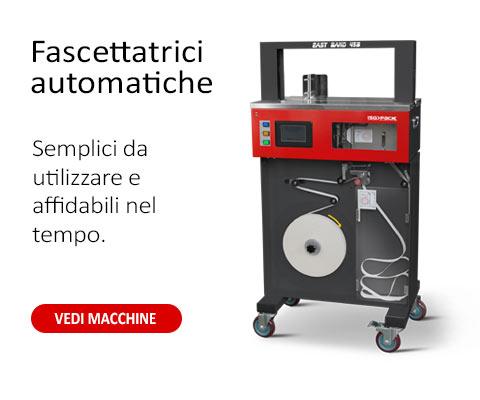 fascettatrici automatiche e manuali ISG PACK