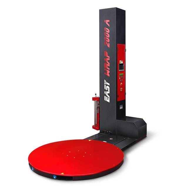 Avvolgipallet semiautomatico per imballo di carichi pallettizzatri - Macchina avvolgipallet
