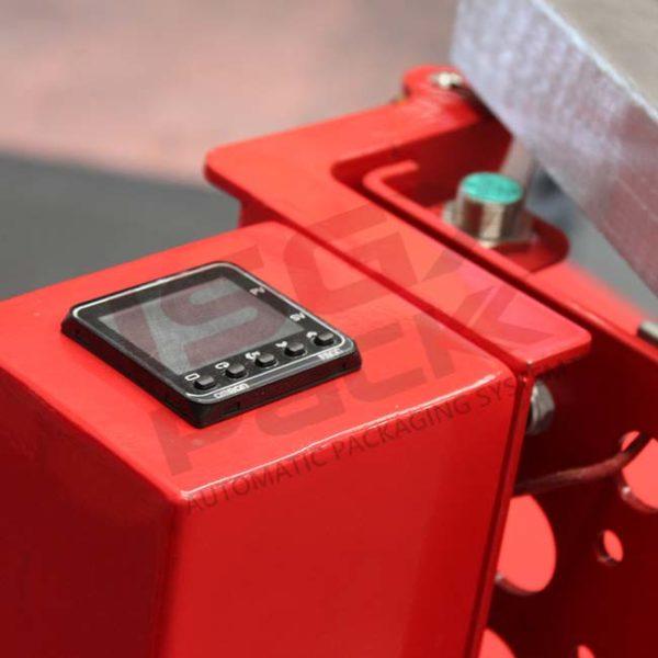 Stretch film sealing temperature control device