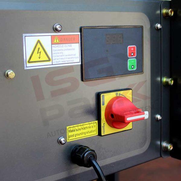 Sistema di accensione nastratrice semiautomatica
