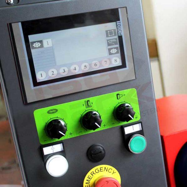 Nuovo pannello di controllo avvolgipallet Box Wrap 800 B