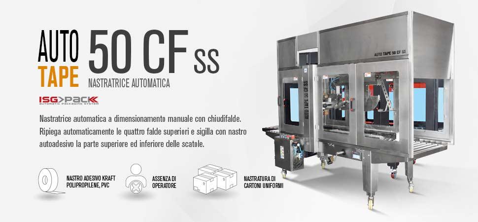Scheda prodotto nastratrice automatica Auto Tpa 50 CF SS