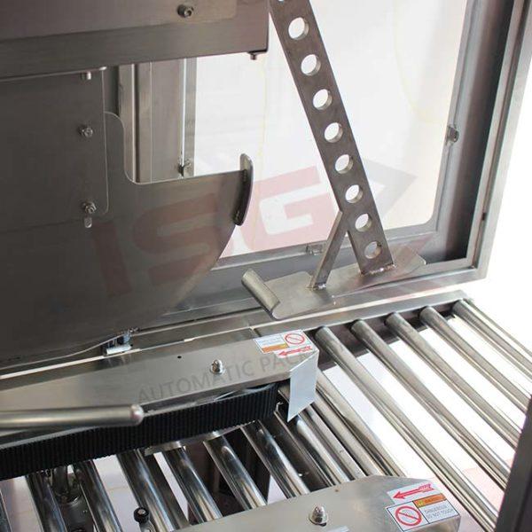 Sistema chiudi falda cartone in acciaio inox