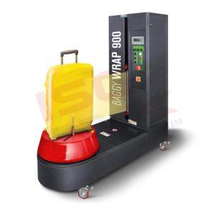 Avvolgitore speciale per imballo di prodotti in verticale ISG PACK
