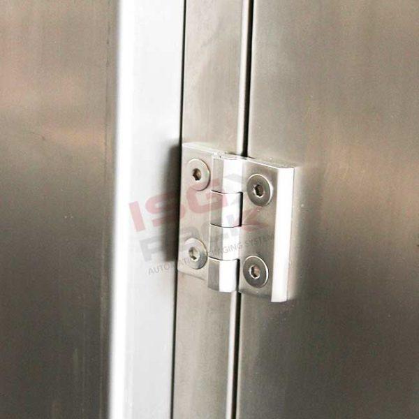 cerniera chiusura protezioni in acciaio