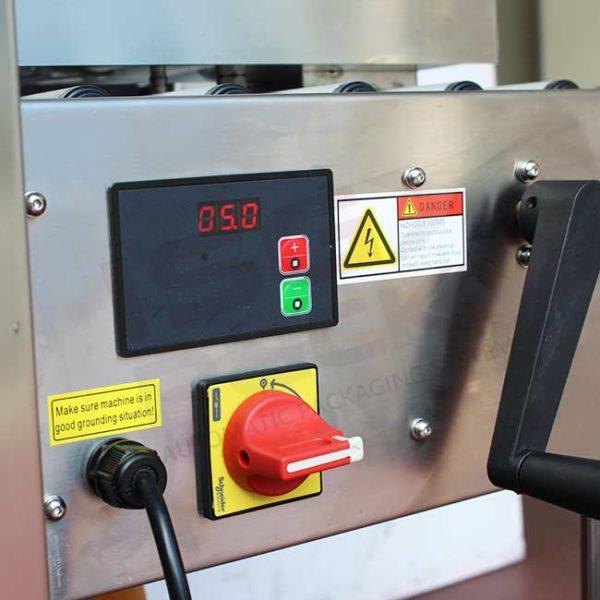 Comandi nastratrice in acciaio inx Eco tape 50 SB SS