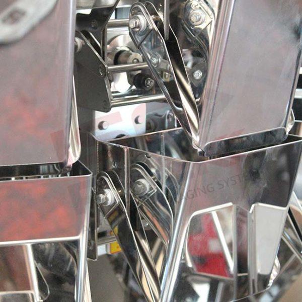 Cestelli di pesatura macchina verticale a 14 teste