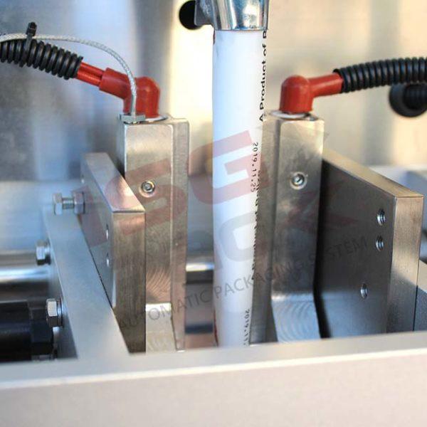 Sistema di saldatura per confezioni di prodotti granulari