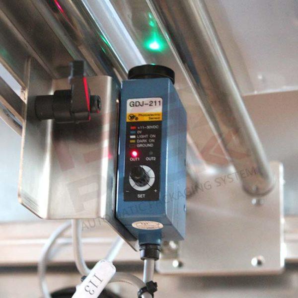 sensore di rilevamento prodotti confezionatrici verticali