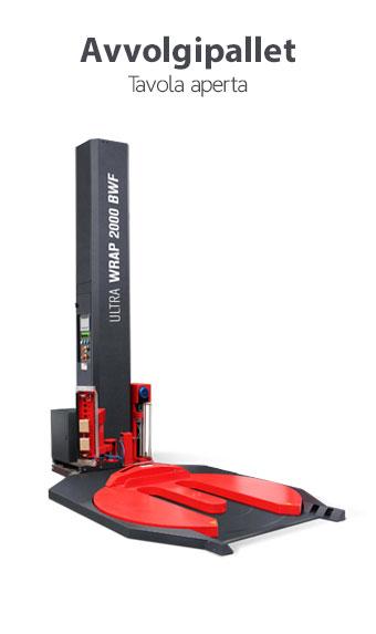 Avvolgipallet a tavola aperta Easy Wrap 2000 AW - per entrata del carico con transpallet - ISG PACK