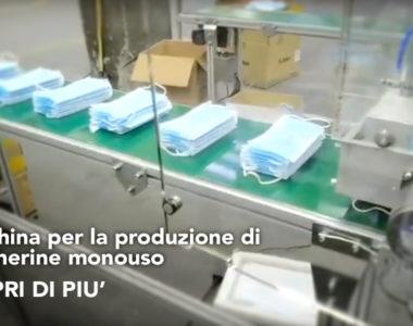 produzione mascherine monouso