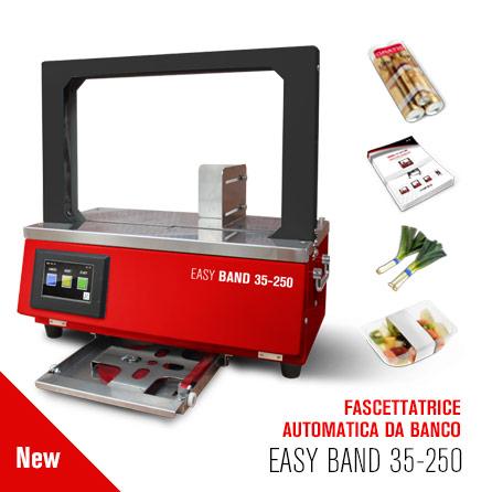 FASCETTATRICE AUTOMATICA DA BANCO EASY BAND 35-250