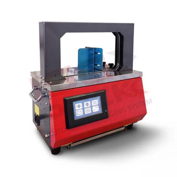 Fascettatrice automatica da banco mod. Easy Band 25-200 per nastri da 12 mm