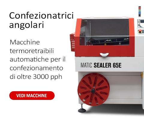 Confezionatrici angolari automatiche linea matic Sealer