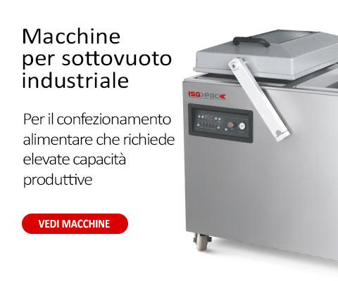 Macchine sottovuoto per il confezionamento alimentare che richiede elevate capacità produttive