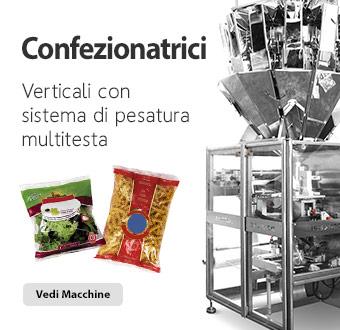 Confezionatrici verticali con bilance multitesta