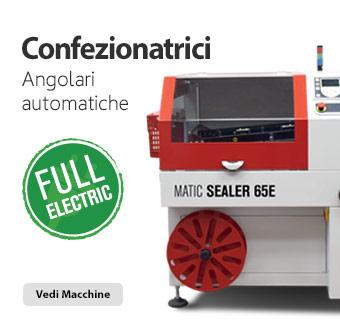Confezionatrice angolare automatica full electric