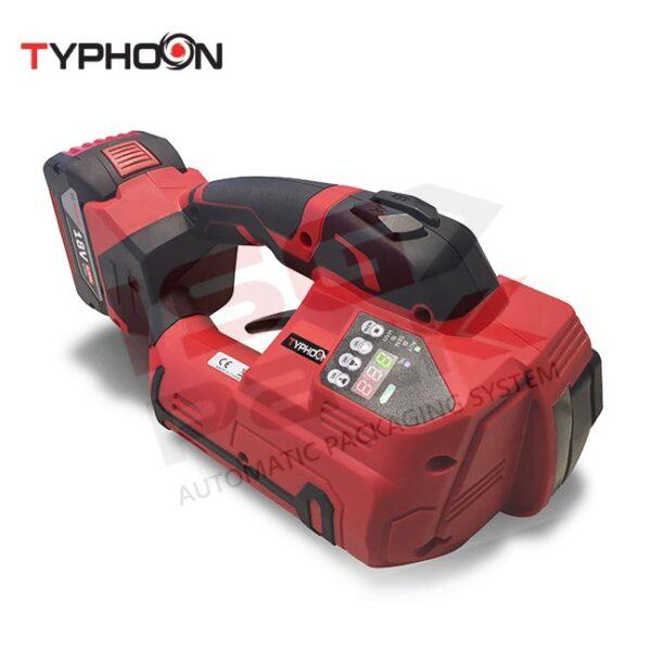 Reggiatrice portatile a batteria Typhoon