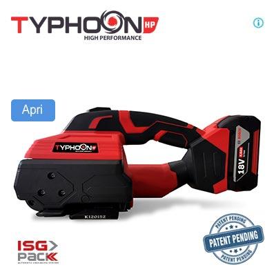 Reggiatrice a batteria Typhoon HP 2021