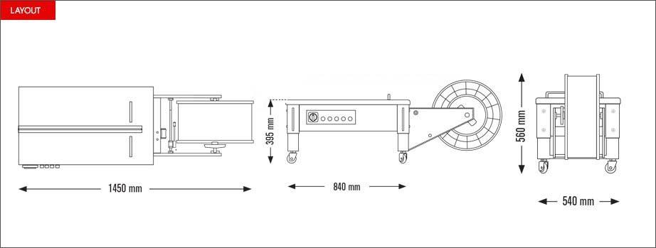 Layout Eco Strap 501L