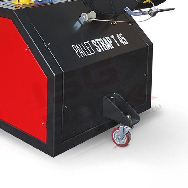 Ruota pivotante posteriore reggiatrice Pallet Strap T45